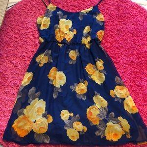 Flower Patterned Dress